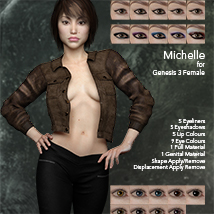 Michelle for Genesis 3 Female image 5