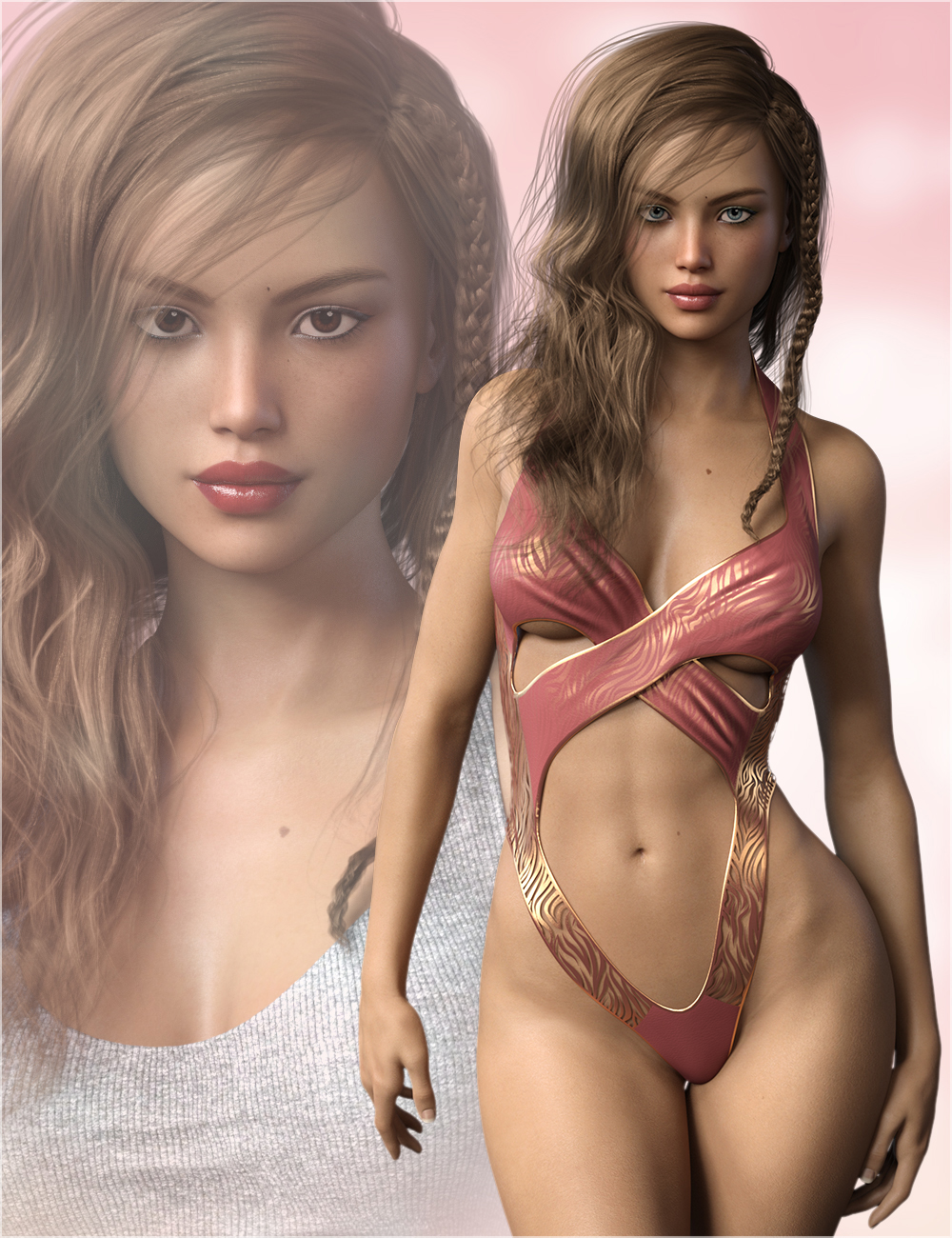 FWSA Caterina for Victoria 7 and Genesis 3 by Sabby