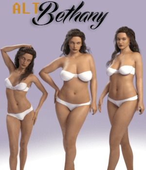 Alt Bethany 3D Figure Assets AliveSheCried