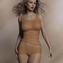Top & Shorts for Genesis 3 Female(s) image 6