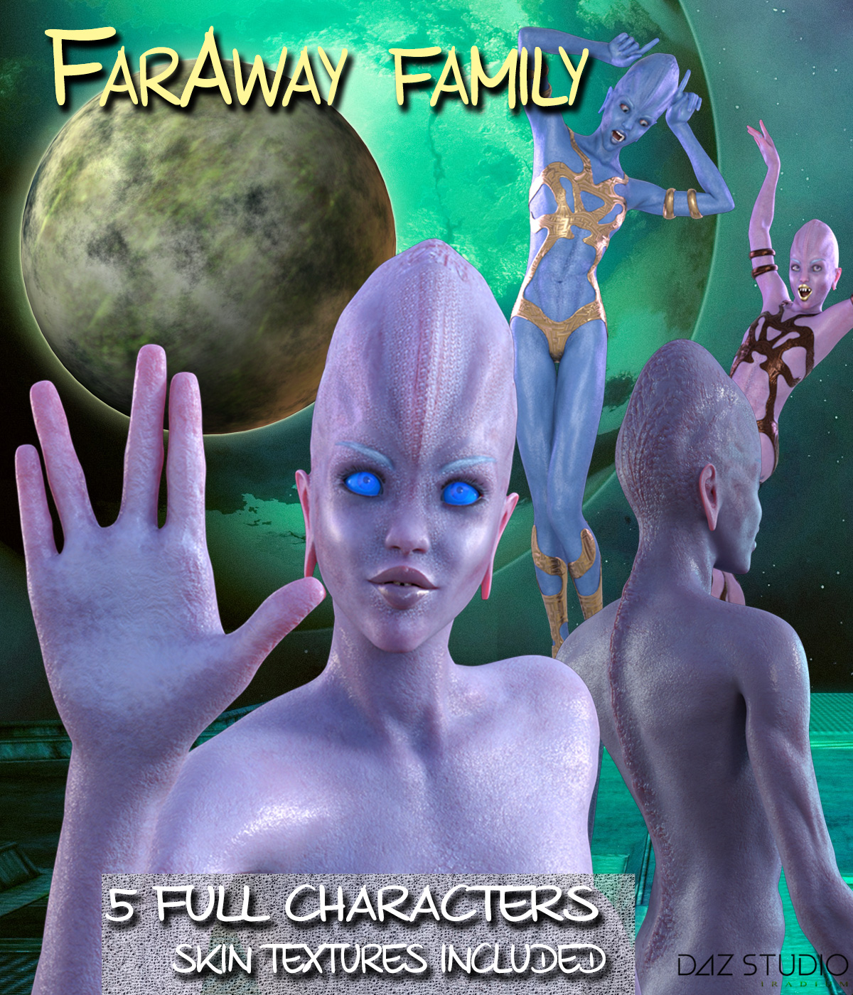 FARAWAY FAMILY for Genesis 3 Female(s)