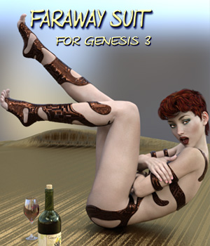 Faraway SUIT for Genesis 3 Female(s) 3D Figure Assets Mar3D