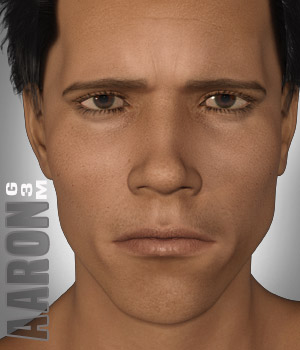 Aaron for G3M 3D Figure Assets xtrart-3d