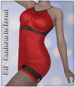 G3F-Conform to Trend 01-Sporty Dress 3D Figure Essentials Lully