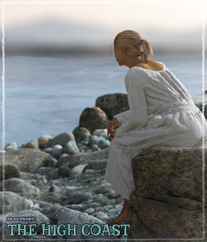 3D Scenery: The High Coast - Extended License 3D Models Gaming Extended Licenses ShaaraMuse3D