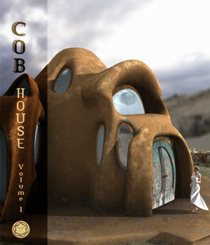 Cob House Volume 1 3D Models HolyWonderWorld
