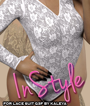 InStyle - Lace Suit G3F 3D Figure Essentials -Valkyrie-
