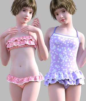 GaoDan Swimwear 16 3D Figure Essentials gaodan