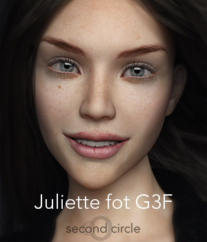 Juliette for Genesis 3 Female 3D Figure Essentials secondcircle