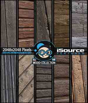 Wood Collection - Vol1 (PBR Textures) 2D Graphics KobaAlexander