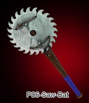 P06-Saw-Bat 3D Models ali