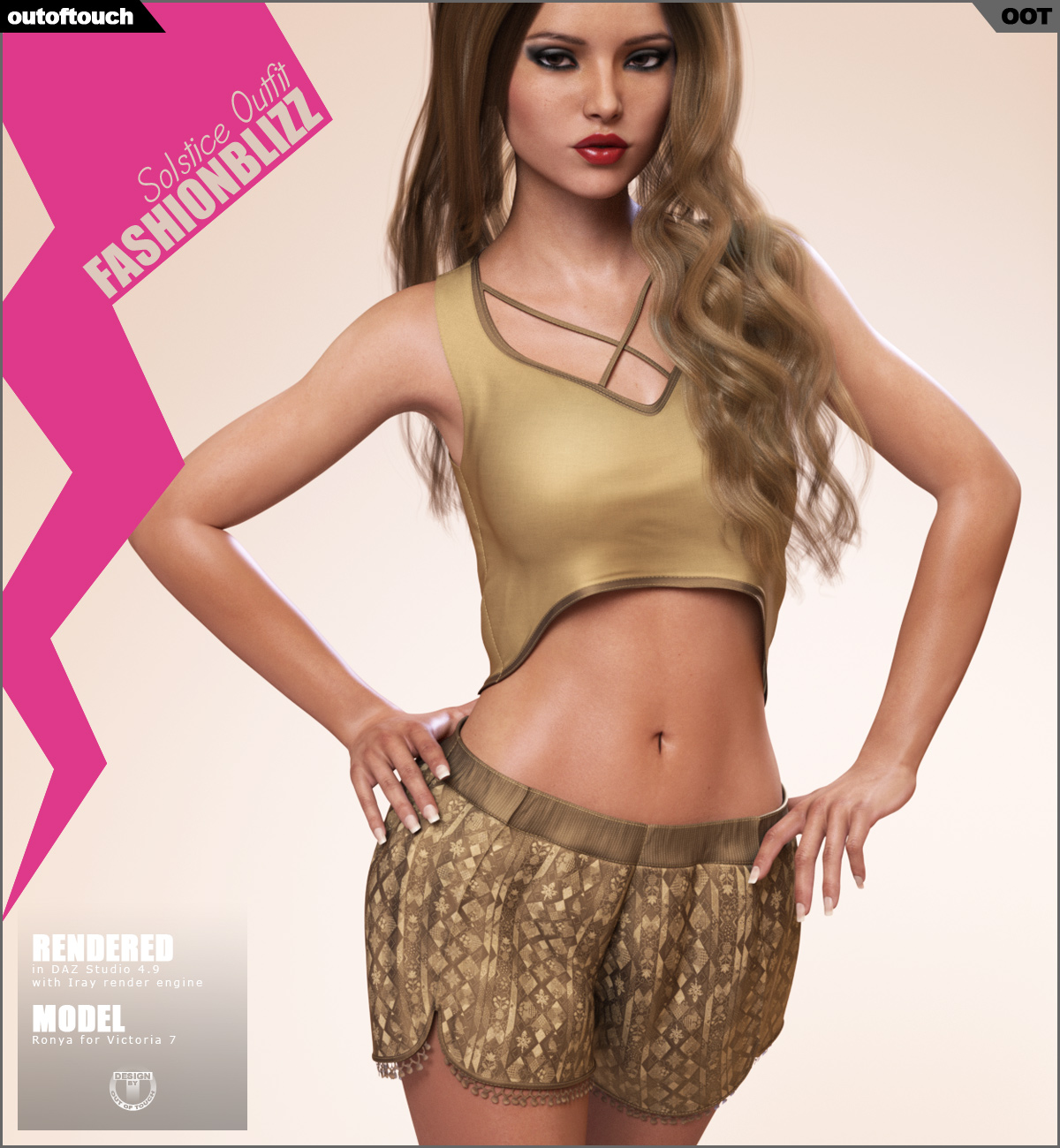 Fashion Blizz: Solstice Outfit for Genesis 3 Female(s) by outoftouch