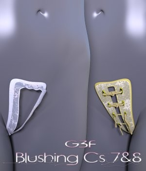 Blushing Cs 7 & 8 G3F 3D Figure Essentials nirvy