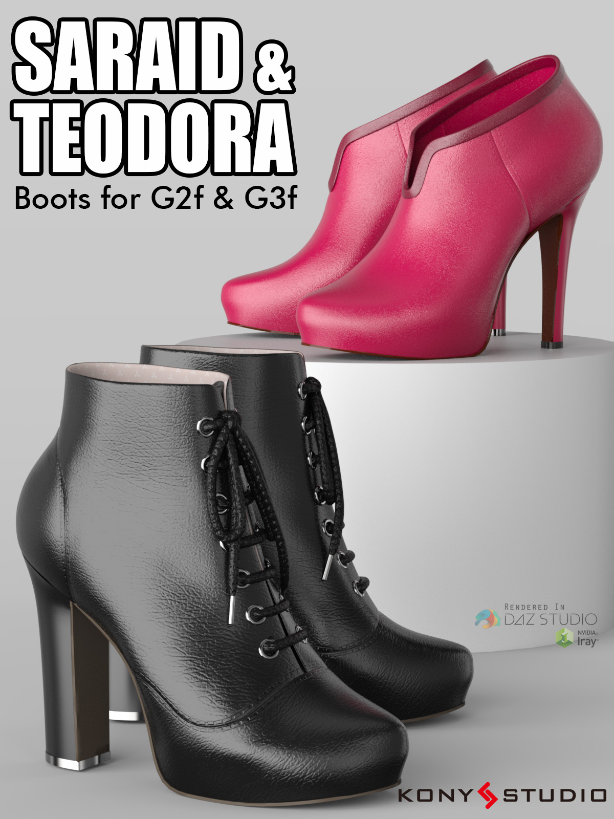 Saraid & Teodora Boots for G2f and G3f by kony