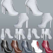 Saraid & Teodora Boots for G2f and G3f image 1