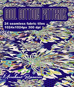 COOL COTTONY PATTERNS 2D Graphics Merchant Resources RajRaja