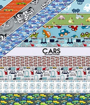 Cars :: Seamless Pattern
