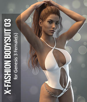 X-BodySuit 3 for G3F 3D Figure Essentials xtrart-3d