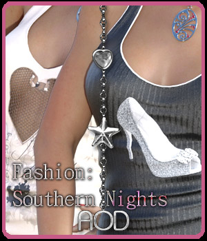 FASHION: Southern Nights for Genesis 3 3D Figure Essentials ArtOfDreams