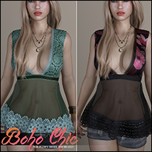 Boho Chic Flowy Sheer Top image 2