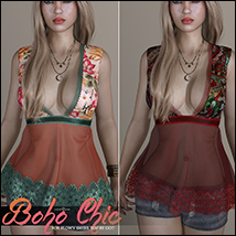 Boho Chic Flowy Sheer Top image 4