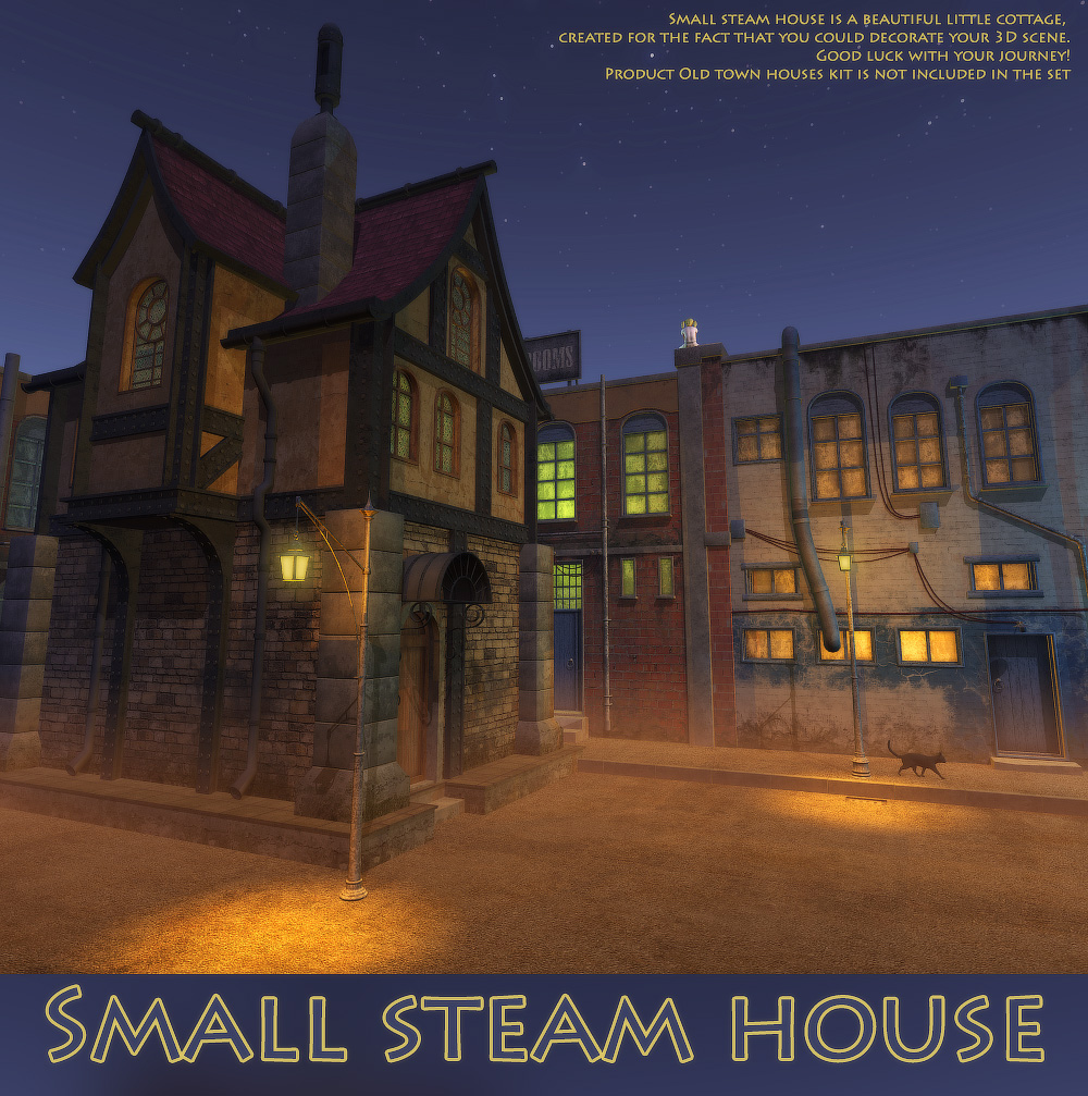 Small steam house by 1971s