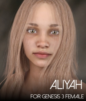 Aliyah for Genesis 3 Female 3D Figure Assets RedzStudio