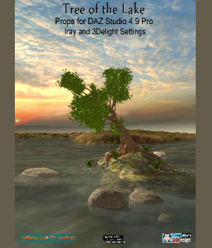 Tree of the Lake 3D Models JeffersonAF