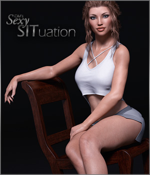 DM's Sexy SITuation 3D Figure Essentials 3D Models DM