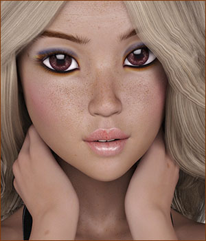 TDT-Seychelle for Aiko 7 3D Figure Essentials Deva3D