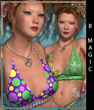 B-Magic II for B-Girl VIII 3D Figure Essentials sandra_bonello