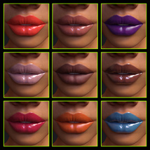 Iray Lipgloss and Lipcolors for Genesis 3 Female(s) image 8