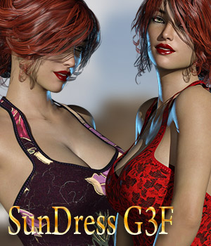 Sundress G3F 3D Figure Essentials kaleya