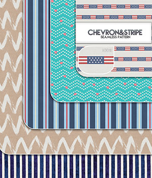 Chevron&Stripe :: Seamless Pattern 2D Merchant Resources Cyrax3D