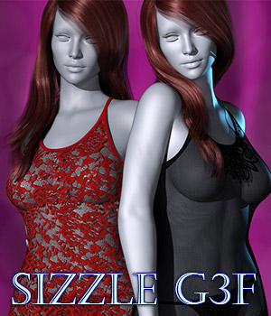 Sizzle G3F 3D Figure Essentials kaleya