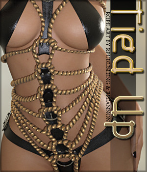 Tied Up for Rope Art 3D Figure Essentials Sveva