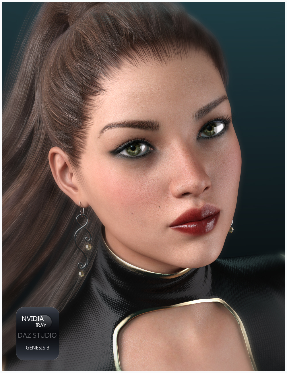 GDN Nora for Genesis 3 Female  by Valery3D