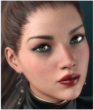 GDN Nora for Genesis 3 Female  3D Figure Assets Godin