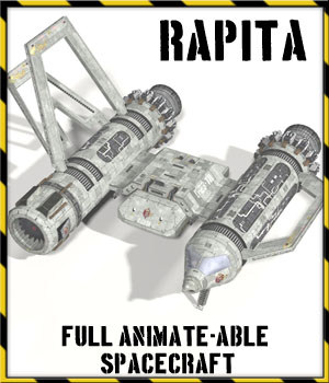 Rapita Spacecraft 3D Models 3-d-c