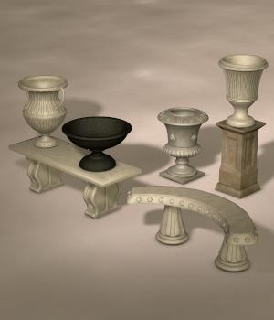 GRECO-ROMAN SET3 3D Models Nationale7