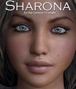 Sharona for Genesis 3 3D Figure Assets Rhiannon