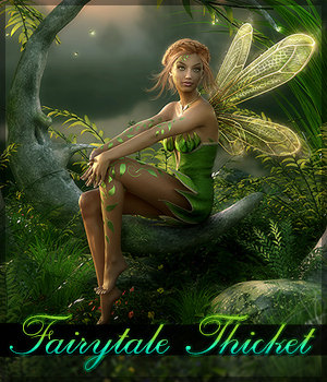 Fairytale Thicket 2D Graphics Sveva