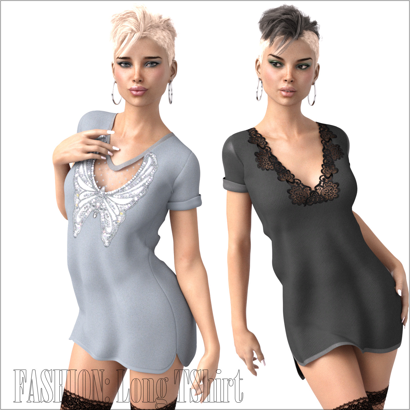 FASHION: Long TShirt IRAY