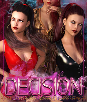 Decision for Sharona Romper for G3 3D Figure Assets ShanasSoulmate