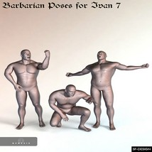 Barbarian Poses for Ivan 7 image 1