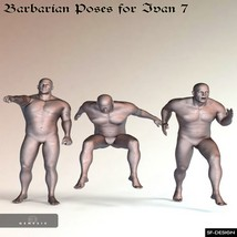 Barbarian Poses for Ivan 7 image 2