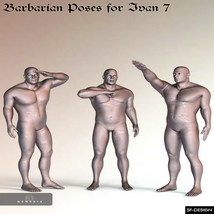Barbarian Poses for Ivan 7 image 3