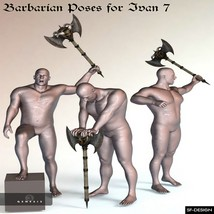 Barbarian Poses for Ivan 7 image 4