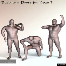 Barbarian Poses for Ivan 7 image 5