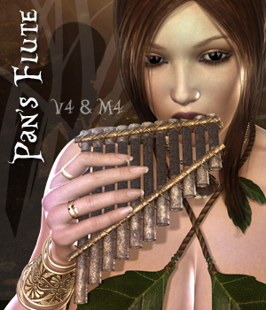 Pan's Flute 3D Figure Essentials 3D Models Darkworld